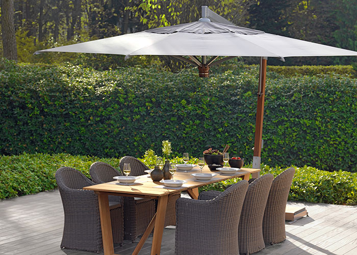 parasols van capri borek outdoor furniture. Black Bedroom Furniture Sets. Home Design Ideas